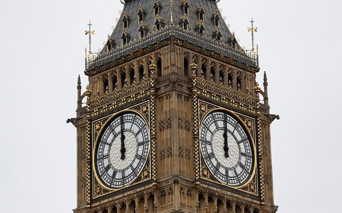 Big Beni kell lõi viimast korda enne pikaaegset remonti.