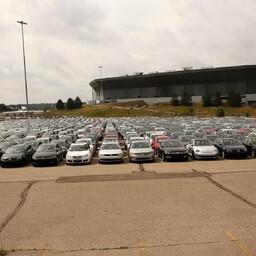 Volkswageni ja Audi poolt tagasi kutsutud diiselautod Michiganis.