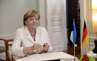 Merkel last visited Estonia in August 2016.