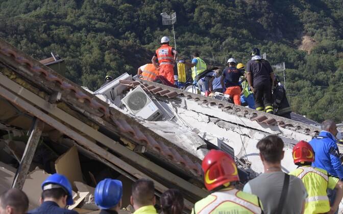 Maavärin Ischia saarel 22. augustil.