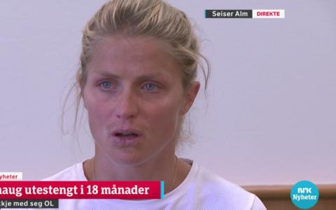 Тереза Йохауг шокирована решением CAS.