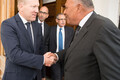 Egyptian Minister of Foreign Affairs Sameh Hassan Shoukry in Estonia on Tuesday. Aug. 22, 2017.