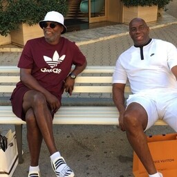 Samuel L. Jackson, Earvin Magic Johnson