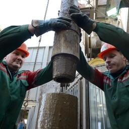 Belorusnefti töötajad.