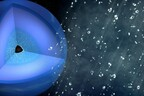 Kunstniku kujutis: Neptuuni ja Uraani sisemuses tõesti sajab teemantvihma.