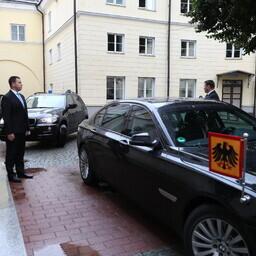 Frank-Walter Steinmeier kohtus Jüri Ratasega.