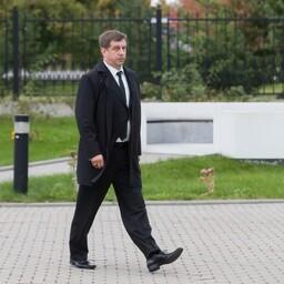 Vladas Radvilavicius allilmaliidri Nikolai Tarankovi matustel.
