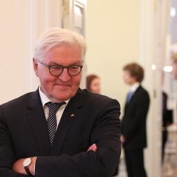 German president Frank-Walter Steinmeier in Tallinn, Aug. 22, 2017.