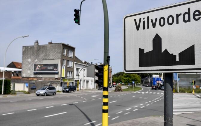 Vilvoorde linna Belgias.