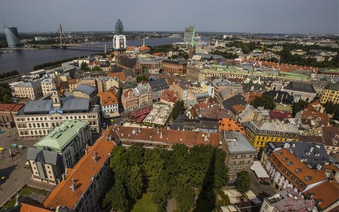 Central Riga.