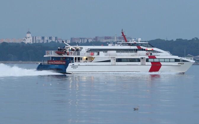 Linda Line'i endine laev Karolin.