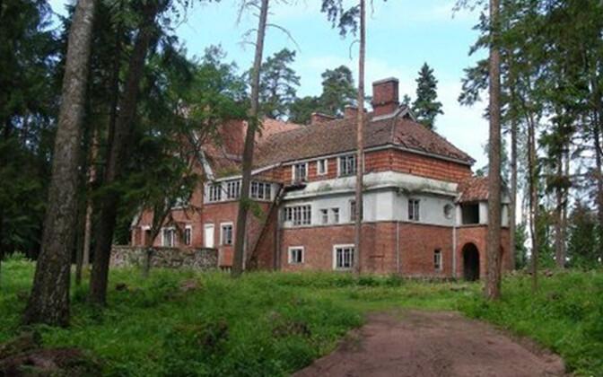 Villa Sellgren, foto tegemise aasta on teadmata.