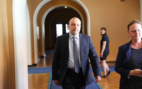 Министр обороны Эстонии Юри Луйк.