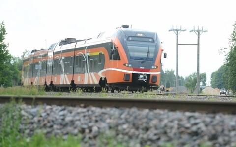 Поезд Elron. Иллюстративный снимок.