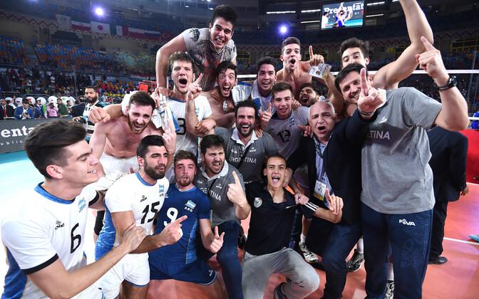 Argentina U-23 võrkpallikoondis
