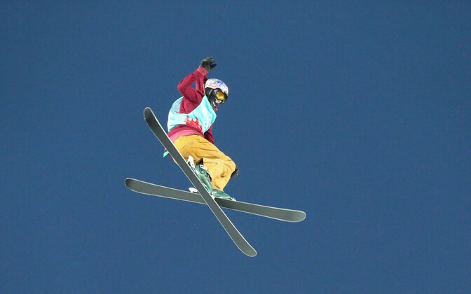 Freestyle skier Kelly Sildaru.