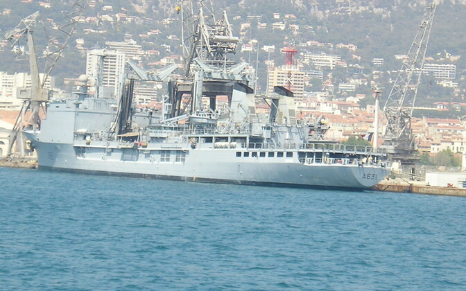 The Somme in the port of Toulon, 2009.