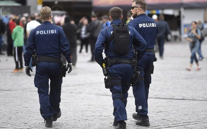 Soome politseinikud.