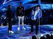 Kendrick Lamar, Dave Free ja Dave Meyers võtmas vastu aasta muusikavideo auhinda
