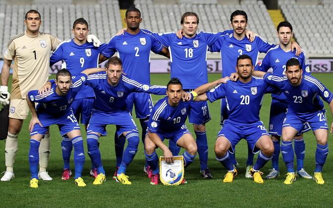 Küprose jalgpallikoondis