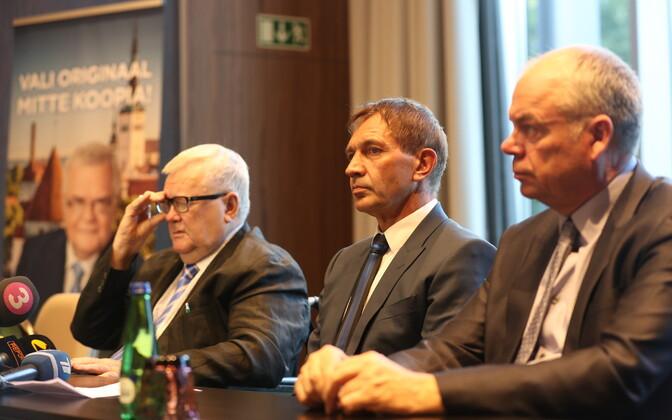 Edgar Savisaar, Urmas Sõõrumaa ja Jüri Mõis