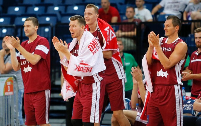 Läti korvpallikoondis