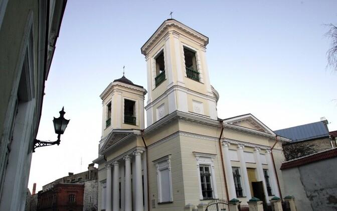 Никольская православная церковь - древнейший Таллиннский приход.