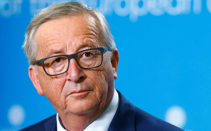 Президент Еврокомиссии Жан-Клод Юнкер.