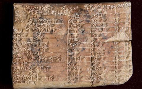 Plimpton 322 savitahvlit kasutati tõenäoliselt trigonomeetria tabelina.