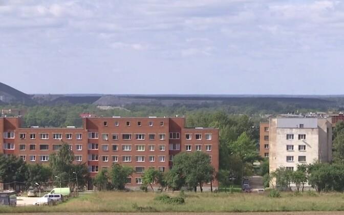 Apartment buildings in Kohtla-Järve.