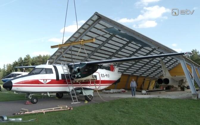 PPA vana seirelennuk L-410 lennundusmuuseumis.