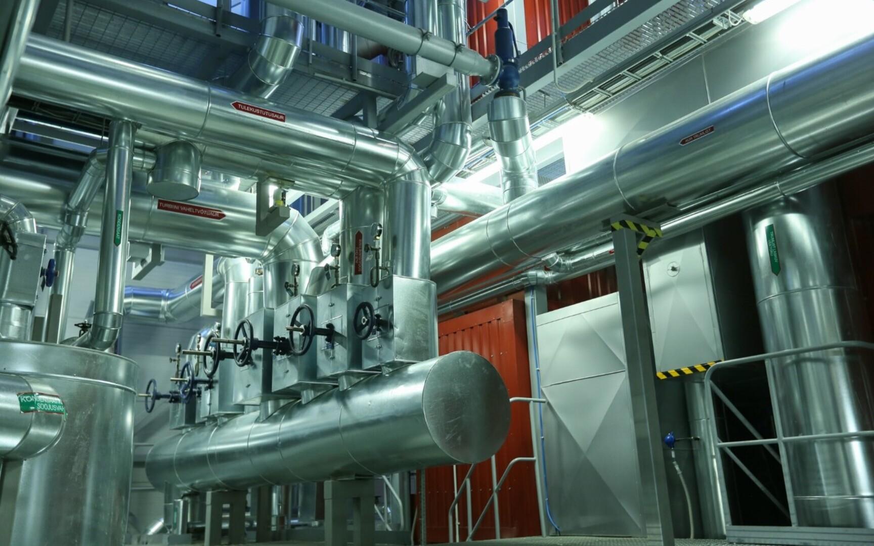 Paide power plant gets new liquid natural gas boiler unit | News | ERR