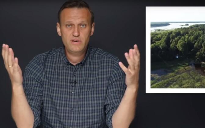 Aleksei Navalnõi ja Putini uus suvila.