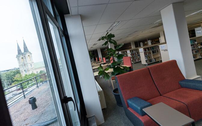 Rahvusraamatukogu uuenenud 7. korrus