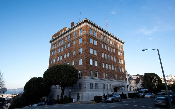Venemaa konsulaat San Franciscos.