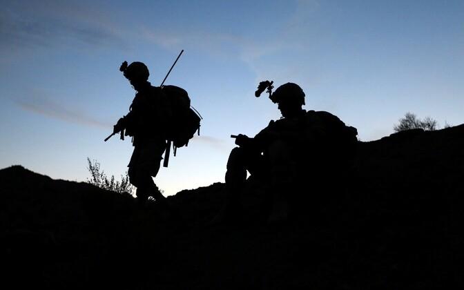USA sõjaväelased Afganistanis.