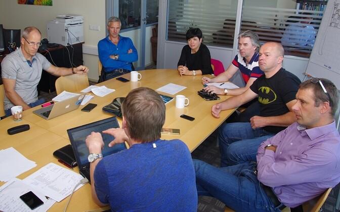 EOK tippspordikomisjoni koosolek.