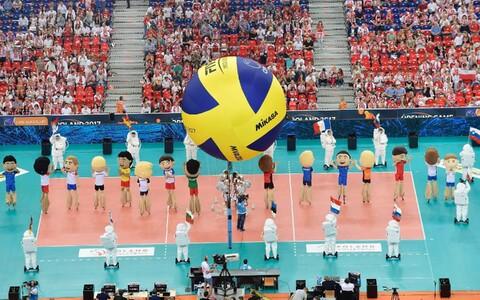 Tänavuse võrkpalli EM-i avamine Poolas.