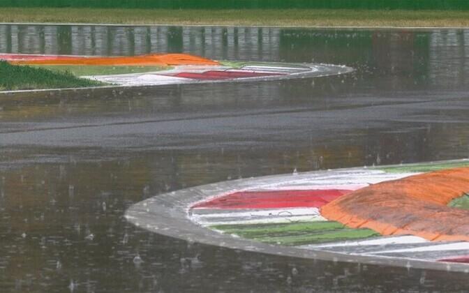 Monza ringrada laupäeva hommikul