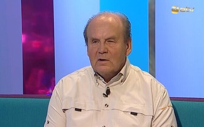 Подводный археолог Велло Мясс.