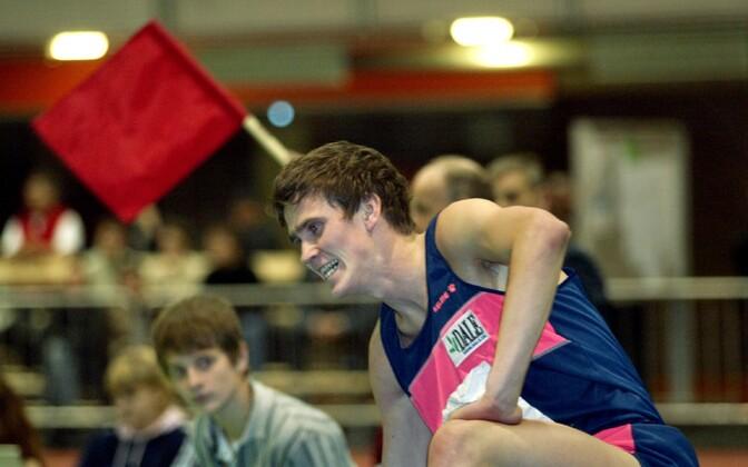 Райнер Пийриметс на соревнованиях в 2005 году.