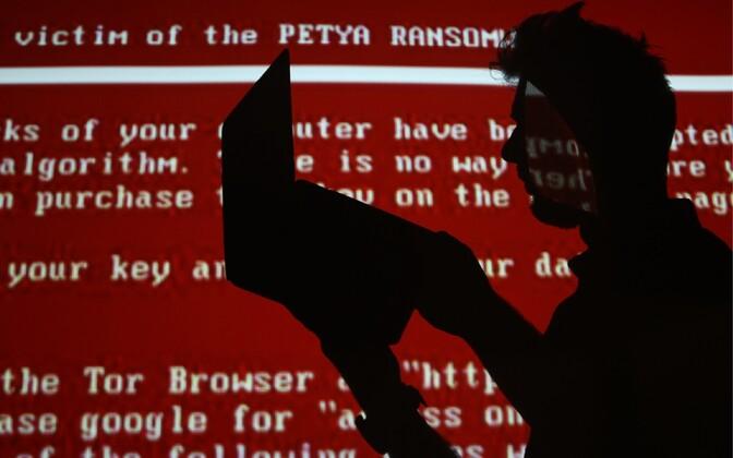 Juunis tabas paljusid riike lunavararünnak Petya.