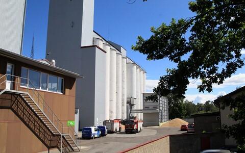 Производственное здание Tartu Mill.