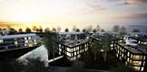 Pirita Promenaadi arhitektuurivõistluse võitnud Salto AB kavand