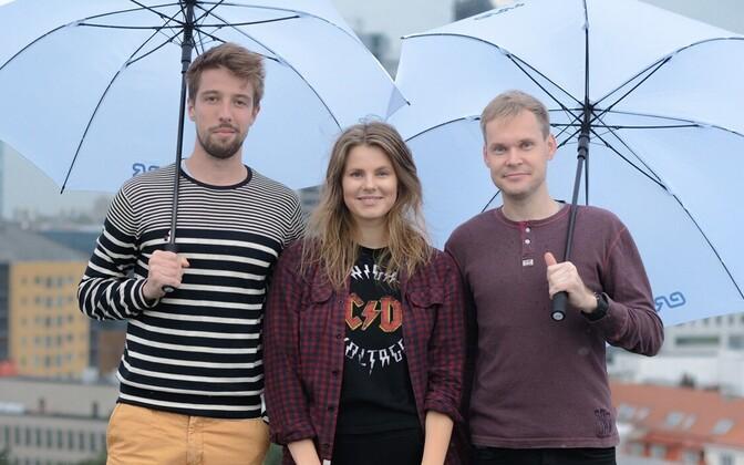 Karl-Andreas Kalmet, Janet Õunapuu ja Margus Kamlat