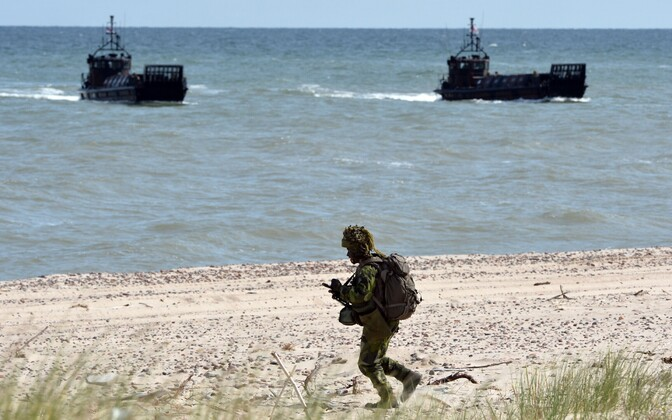 NATO sõjaväelased mereväeõppusel.