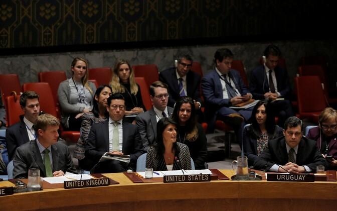 ÜRO Julgeolekunõukogu kogunes Põhja-Korea küsimust arutama.