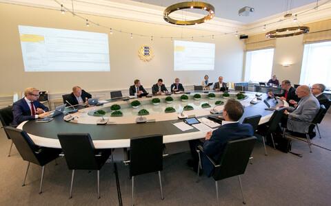 Teadus- ja arendusnõukogu (TAN) koosolek.