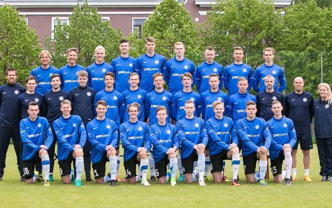 Eesti U-19 jalgpallikoondis