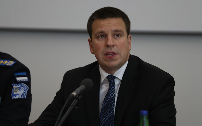 Юри Ратас на пресс-конеференции в связи с обнаруженной проблемой в ID-картах.